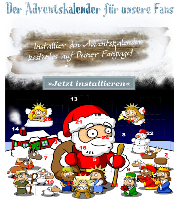 Adventskalender von Social Media Team